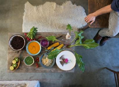COMMUNITY VEGAN DINNER A SORRADILE