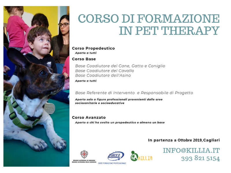 CORSO IN PET THERAPY